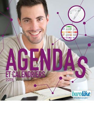 CATALOGUE AGENDAS ET CALENDRIERS 2018