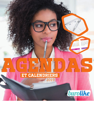 CATALOGUE AGENDAS ET CALENDRIERS 2019