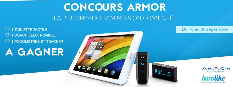 ARMOR la performance d'impression connectée