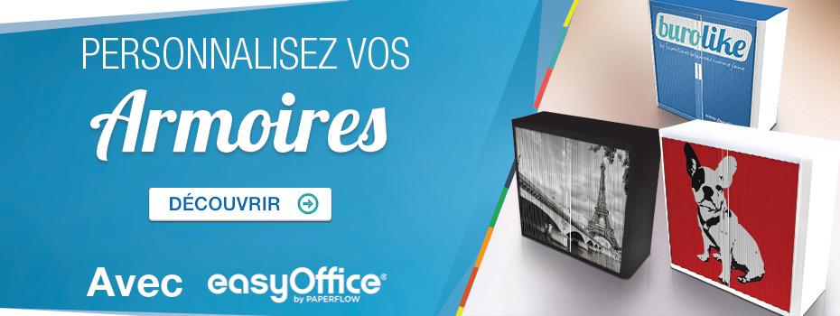 Avec EasyOffice, personnalisez votre armoire !