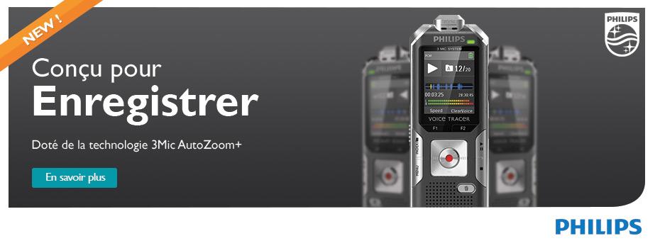 Nouveaux Voice Tracers Philips