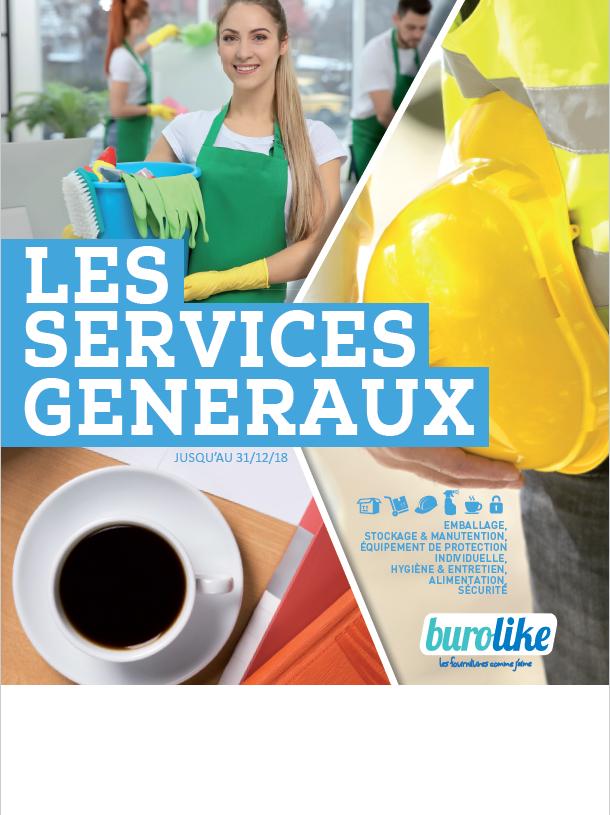 Cataloque Services Généraux Burolike 2018