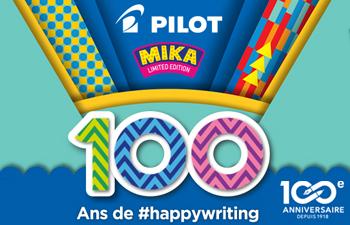 Découvrez les nouveautés du 100ème anniversaire de PILOT