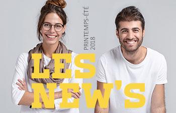Les New's édition printemps-été 2018