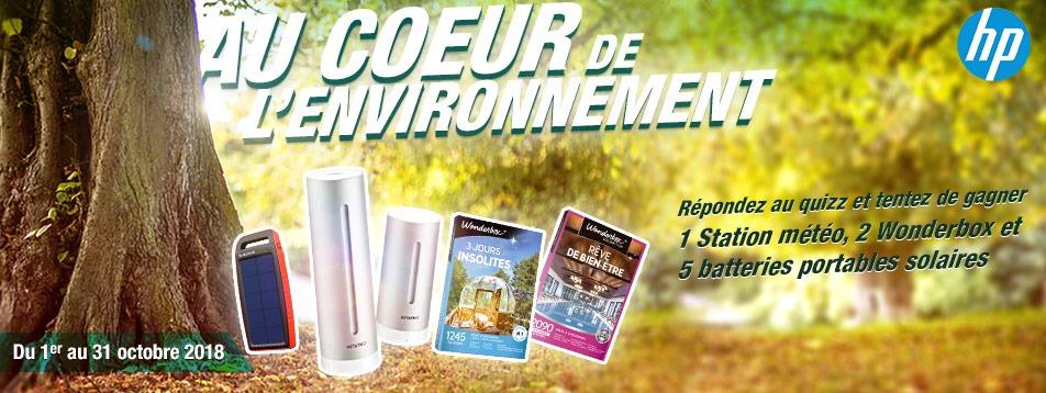 HP au cœur de l'environnement