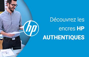 Choisissez les encres HP Authentiques